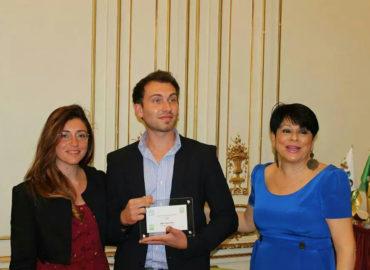 Alex Carenzio vincitore di Oscar green 2014