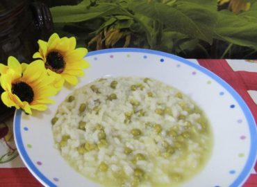 Risotto ai piselli con riso Baldo venduto a Pavia