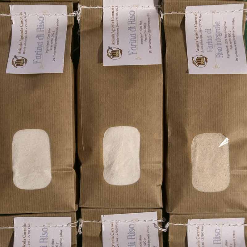 Farina di riso Pavia