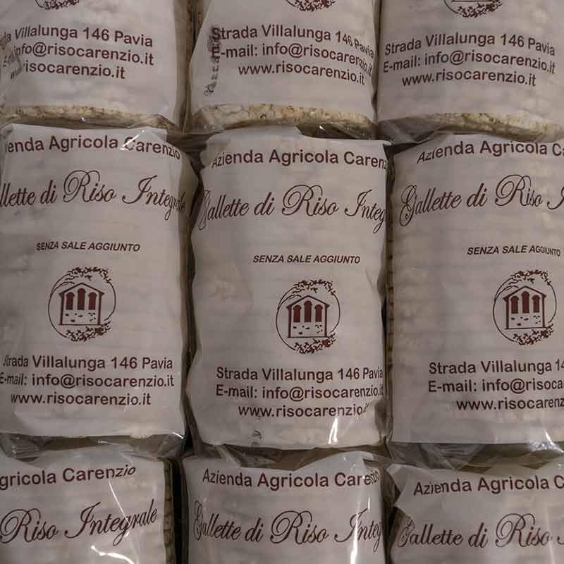 Gallette di riso Pavia